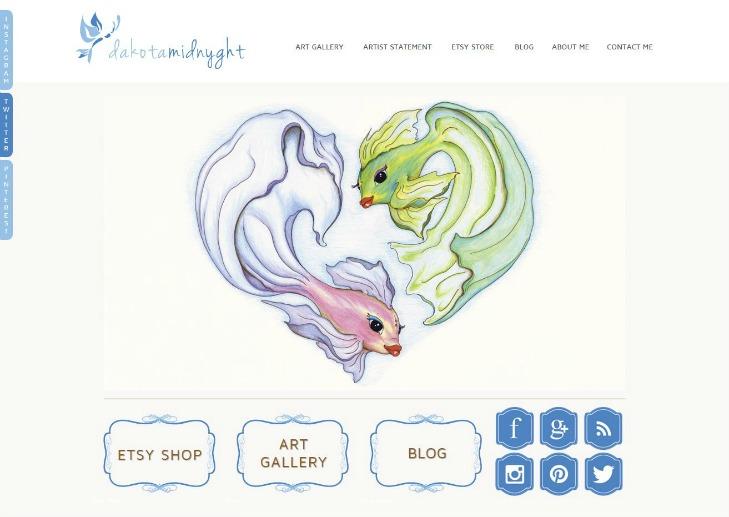 DakotaMidnyght.com Website