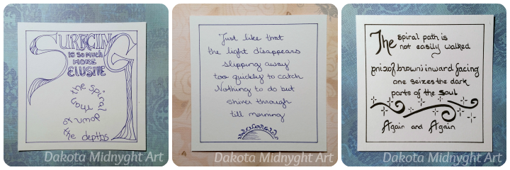 Poems on Depression | Dakota Midnyght Art