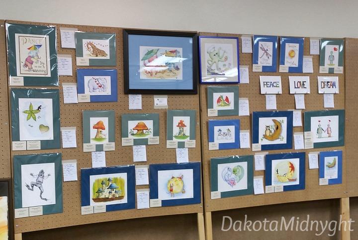 Miscon Art Show | Dakota Midnyght Art