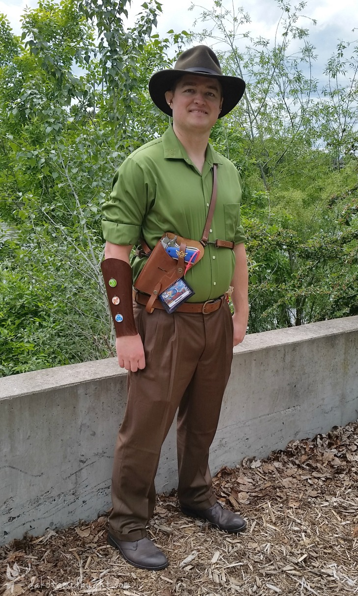 50's Film Noir/Fantasy Link (Link & Zelda Cosplay at Miscon 2016)