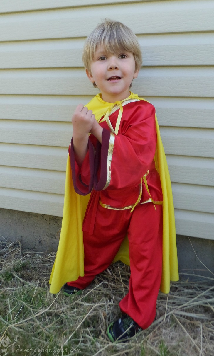Fire Nation/Avatar Inspired Boy's Gei & Pants Outfit (Miscon 2016)